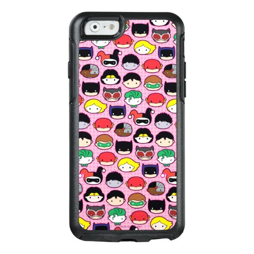 Chibi Justice League Head Pattern OtterBox iPhone 6/6s Case