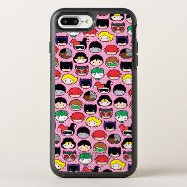 Chibi Justice League Head Pattern OtterBox Symmetry iPhone 8 Plus/7 Plus Case