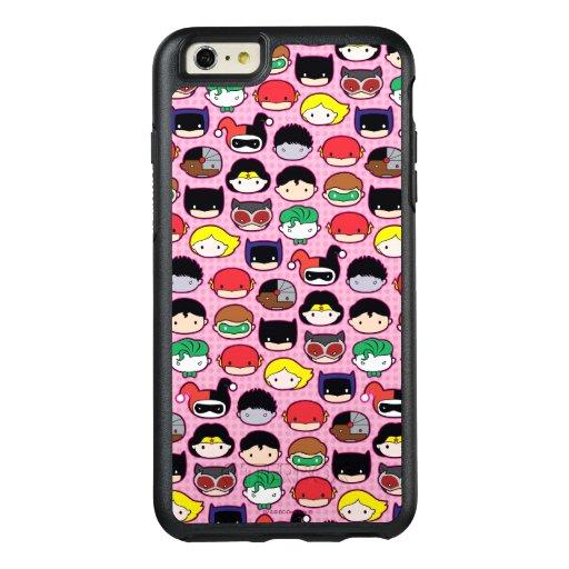 Chibi Justice League Head Pattern OtterBox iPhone 6/6s Plus Case