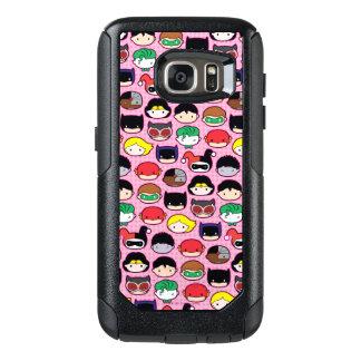 Chibi Justice League Head Pattern OtterBox Samsung Galaxy S7 Case