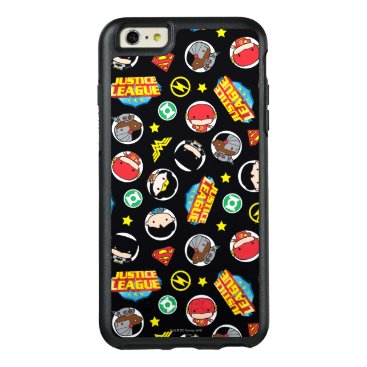 Chibi Justice League Heroes and Logos Pattern OtterBox iPhone 6/6s Plus Case