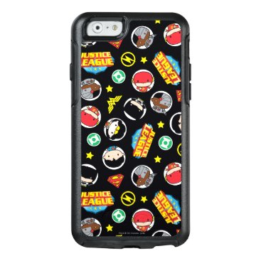 Chibi Justice League Heroes and Logos Pattern OtterBox iPhone 6/6s Case