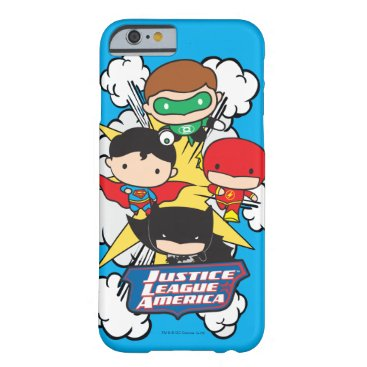 Chibi Justice League of America Explosion Barely There iPhone 6 Case