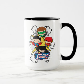 Chibi Justice League of America Explosion Mug