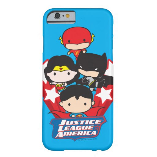 Chibi Justice League of America Stars Barely There iPhone 6 Case
