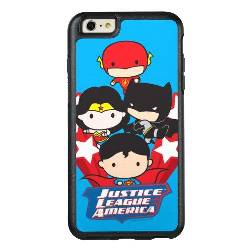 Chibi Justice League of America Stars OtterBox iPhone 6/6s Plus Case