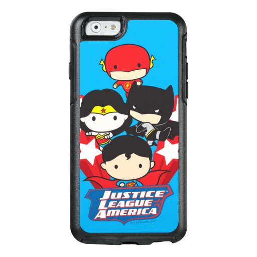 Chibi Justice League of America Stars OtterBox iPhone 6/6s Case
