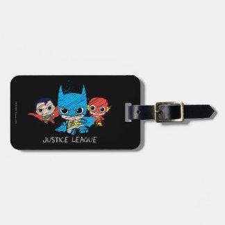 Chibi Justice League Sketch Bag Tag