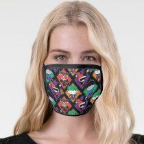 Chibi Justice League Villain Pattern Face Mask