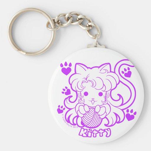 Chibi Kitty Keychain