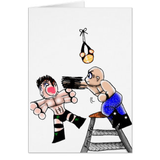 Chibi Ladder Match Card