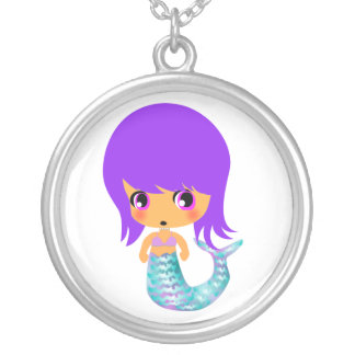 chibi magical mermaid 1 necklace