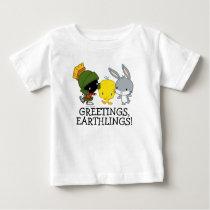 Chibi MARVIN THE MARTIAN™, TWEETY™, & BUGS BUNNY™ Baby T-Shirt