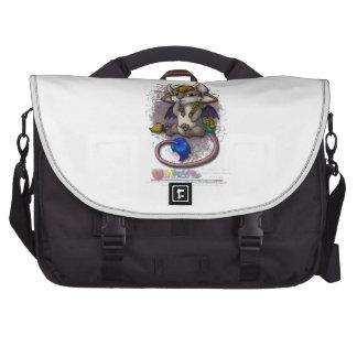 Chibi Mira - mascota de WDi Bolsas Para Ordenador