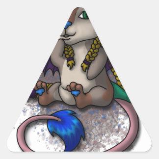 Chibi Mira - WDi Mascot Triangle Sticker