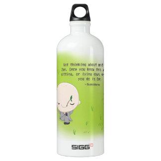 Chibi Monk - Zen Quote SIGG Traveler 1.0L Water Bottle