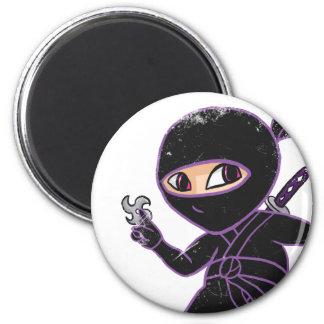 Chibi Ninja distressed Magnet