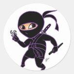 Chibi Ninja Pegatina