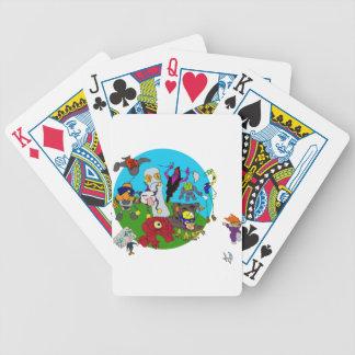 Chibi Ninja Story Bicycle Playing Cards