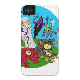 Chibi Ninja Story iPhone 4 Cases