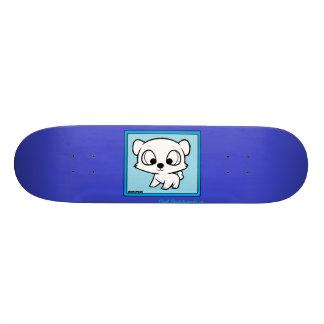 Chibi panda design skateboard