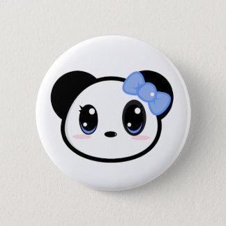 Chibi Panda Girl Button