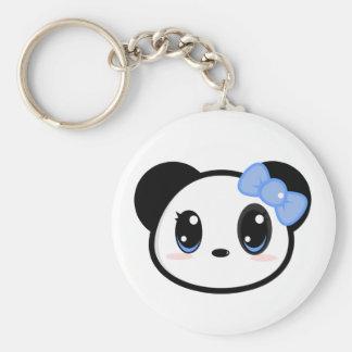 Chibi Panda Girl Keychain
