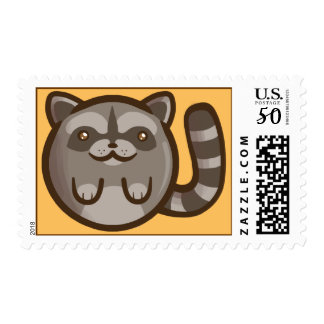 Chibi Raccoon Postage