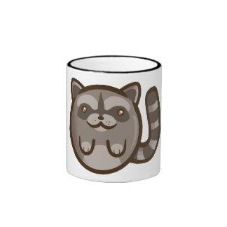 Chibi Raccoon Ringer Mug