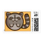 Chibi Raccoon Stamp