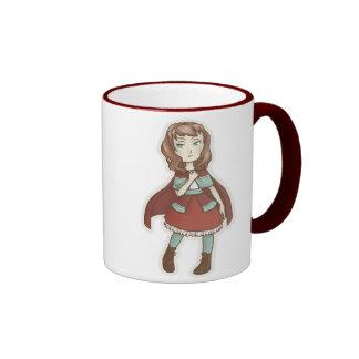 Chibi Red Riding Hood Coffee Mug