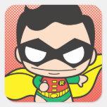 Chibi Robin Square Sticker