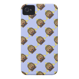 Chibi Sphinx With Pyramids iPhone 4 Covers
