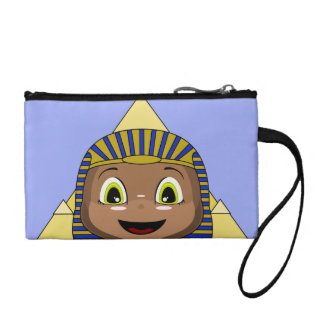 Chibi Sphinx With Pyramids Coin Wallet