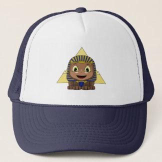 Chibi Sphinx With Pyramids Trucker Hat