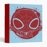 Chibi Spider-Man Grunge Graphic Binder