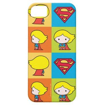 Chibi Supergirl Character Turnaround iPhone SE/5/5s Case