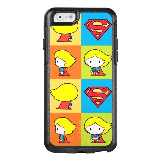 Chibi Supergirl Character Turnaround OtterBox iPhone 6/6s Case