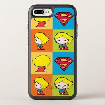 Chibi Supergirl Character Turnaround OtterBox Symmetry iPhone 8 Plus/7 Plus Case