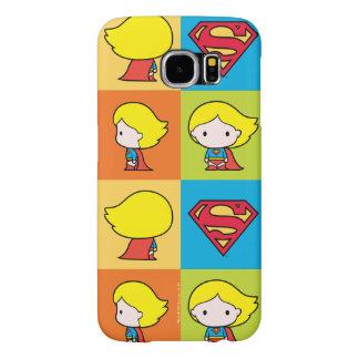 Chibi Supergirl Character Turnaround Samsung Galaxy S6 Case