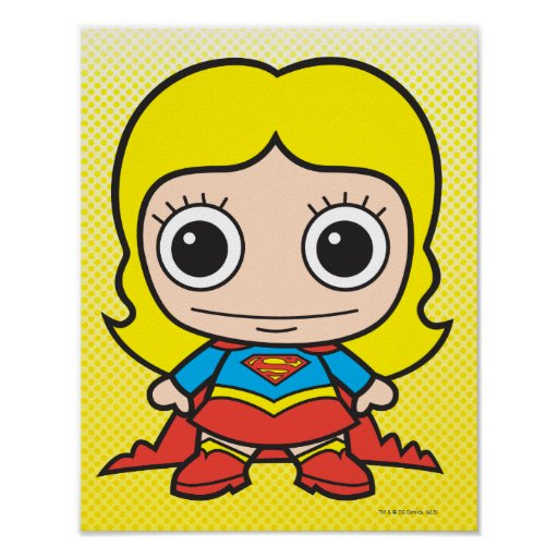 Chibi Supergirl Print