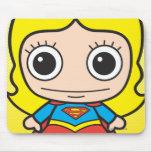 Chibi Supergirl Tapete De Raton