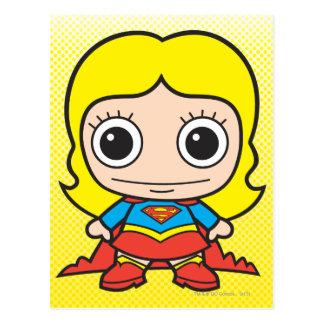 Chibi Supergirl Tarjetas Postales