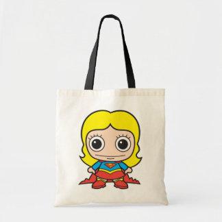 Chibi Supergirl Tote Bag