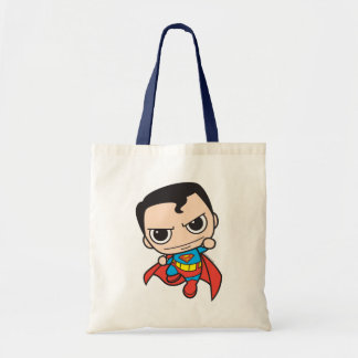 Chibi Superman Flying Canvas Bags