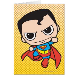 Chibi Superman Flying Card