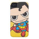 Chibi Superman Flying iPhone 4 Cases