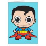 Chibi Superman Greeting Card