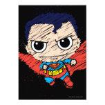 Chibi Superman Sketch 5x7 Paper Invitation Card