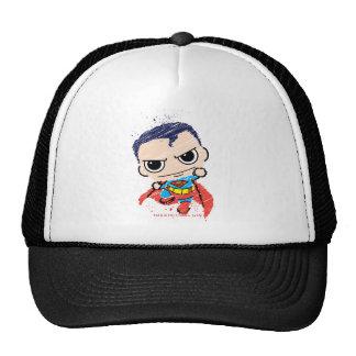 Chibi Superman Sketch - Flying Trucker Hat